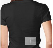 LOCAN VERTICLE Womens Fitted T-Shirt