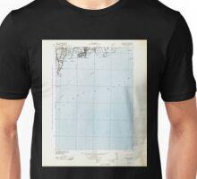 USGS TOPO Map Rhode Island RI Newport 353536 1942 125000 Unisex T-Shirt