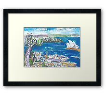 From The Rocks Framed Print
