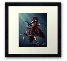Past Miraculous Ladybug (Mego) Framed Print
