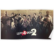 Left 4 Dead 2 Characters Poster
