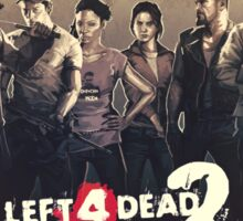 Left 4 Dead 2 Characters Sticker