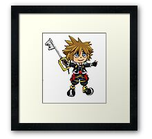 Small Sora Framed Print