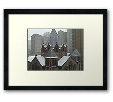 Cathedral in Philadelphia Framed Print