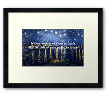 Starlight, Starbright Framed Print