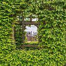 Arundel Castle, window in the garden wall by Pauline Tims