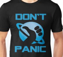 Dont Panic Hitchiker Guide to galaxy Unisex T-Shirt