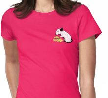 Mouse and Cheese Womens Fitted T-Shirt