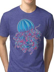 Jellyfish Tri-blend T-Shirt