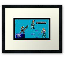 PS1 LEGENDS Framed Print
