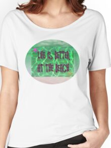 Life is better at the beach Women's Relaxed Fit T-Shirt