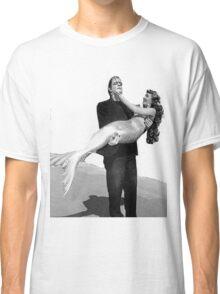 Frankenstein holding  mermaid Classic T-Shirt