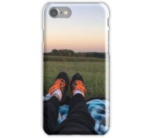 Nike's in a Field iPhone Case/Skin