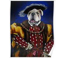The English Bulldog Poster
