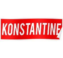 Konstantine  Poster