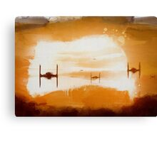 Tie Sunset Canvas Print