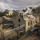 Steam Power at Sovereign Hill, 19th Century Ballarat by TonyCrehan