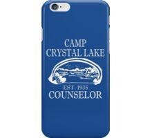 Camp Crystal Lake Counselor iPhone Case/Skin