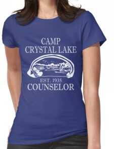 Camp Crystal Lake Counselor Womens Fitted T-Shirt