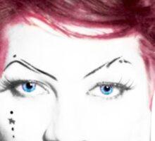 Amanda Palmer Edited Album Cover Sticker