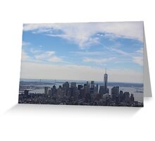 NYC From the Top of the Empire State Building   Greeting Card