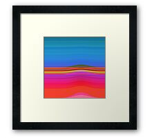 Waves I. Framed Print