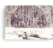 Bear Lake, Colorado _ American Cutouts Canvas Print