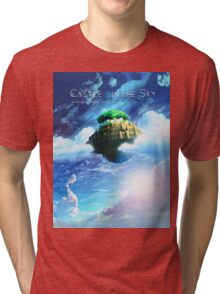 Castle In the Sky Poster Tri-blend T-Shirt