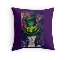 Dorthy of Wonderland Throw Pillow