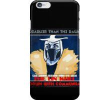 Sub-Zero Lin Kuei Tag Line iPhone Case/Skin