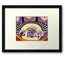 Kirby Band Framed Print