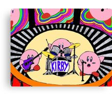 Kirby Band Canvas Print