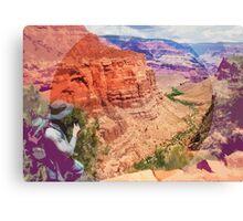 Bright Angel Trail, Arizona _ American Cutouts Canvas Print