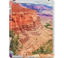 Bright Angel Trail, Arizona _ American Cutouts iPad Case/Skin