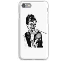 zombies audrey hepburn evil dead zombie iPhone Case/Skin