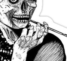 zombies audrey hepburn evil dead zombie Sticker