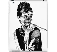 zombies audrey hepburn evil dead zombie iPad Case/Skin