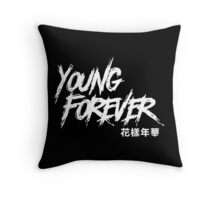 young forever BTS Throw Pillow