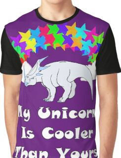 My Unicorn is Cooler Than Yours 2 Graphic T-Shirt