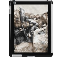 Soldiers Use Periscope Battlefield iPad Case/Skin