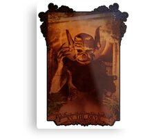 XV THE DEVIL Metal Print