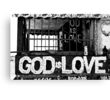 God Is Love Photo Canvas Print
