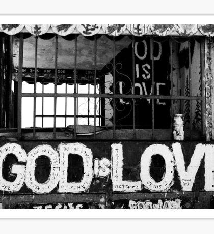 God Is Love Photo Sticker