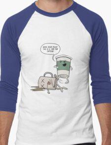 Move Over Decaf Men's Baseball ¾ T-Shirt