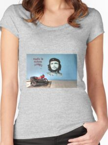 Che Bike  Women's Fitted Scoop T-Shirt