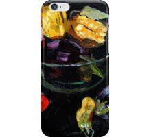 beautiful vegetables on black     iPhone Case/Skin