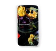 beautiful vegetables on black     Samsung Galaxy Case/Skin