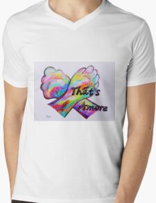 American Sign Language - That's Amore! Mens V-Neck T-Shirt
