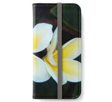 Plumeria iPhone Wallet/Case/Skin