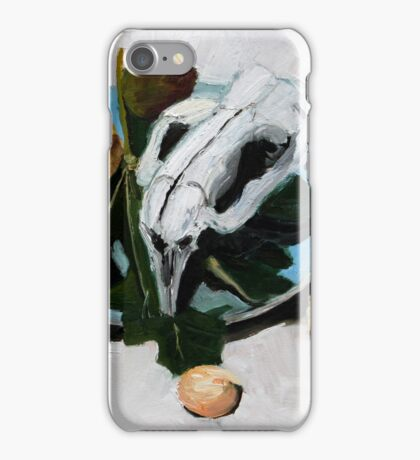 wombat short breads and pear iPhone Case/Skin